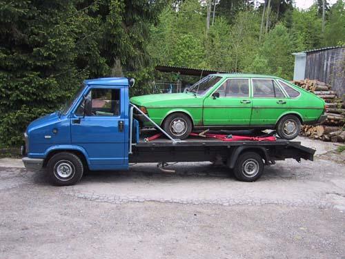 VW Passat GLS 1980 Schlachter